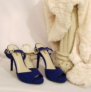 Beautiful blue heels